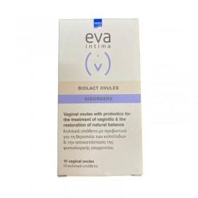EVA Intima Biolact Disorders Προβιοτικά Υπόθετα 10x2gr