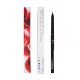KORRES Morello Stay-On Lip Liner Αδιάβροχο Μηχανικό Μολύβι Χειλιών Απόχρωση 01 Nude 0.35g
