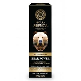 NATURA SIBERICA For Men Bear Power Face Cream Σούπερ Εντατική Αντιρυτιδική Κρέμα Προσώπου Κατάλληλο για Όλους τους Τύπους Δέρματος για Ώριμες Επιδερμίδες 50ml