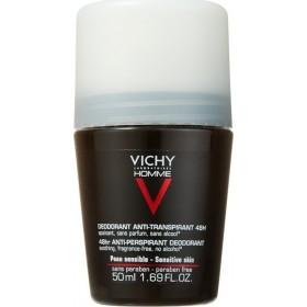 VICHY Homme Deodorant Ανδρικό Αποσμητικό για 48 ώρες Roll On 50ml