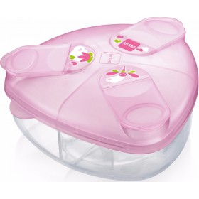 MAM Milk Powder Box Δοχείο για Σκόνη Γάλακτος Χρώμα Ρόζ