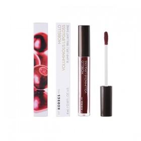 KORRES Morello Voluminous Lipgloss για Γεμάτα Χείλη & Λαμπερό Αποτέλεσμα Απόχρωση 58 Bloody Cherry 4ml