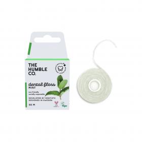 THE HUMBLE CO. Dental Floss Mint Οδοντικό Νήμα Καθαρισμού με Γεύση Μέντα 50m