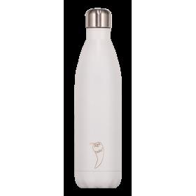 CHILLY'S Matte Edition Ανοξείδωτο Θερμός Χρώμα Λευκό 500ml
