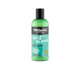 ORGANIC KITCHEN Hot Off The Press Φυσικό Conditioner Καθαρισμού για Όγκο , Ενυδάτωση & ενδυνάμωση 260ml