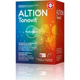 ALTION Tonovit Multivitamin Πολυβιταμινούχο Συμπλήρωμα Διατροφής 40 Κάψουλες