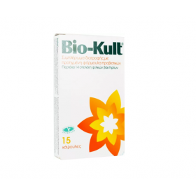 BIO-KULT Συμπλήρωμα Διατροφής με Προηγμένη Φόρμουλα Προβιοτικών 15 Κάψουλες