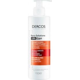 VICHY Dercos Kera-Solutions Intensiv Repair Shampoo Resurfacing Αναζωογονητικό Σαμπουάν για Ξηρά Μαλλιά 250ml