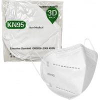 Μάσκα Υψηλής Προστασίας KN95 GB2626-2006 Λευκή 1τμχ