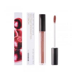 KORRES Morello Voluminous Lipgloss για Γεμάτα Χείλη & Λαμπερό Αποτέλεσμα Απόχρωση 31 Bronze Nude 4ml