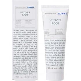 KORRES Aftershave Balm Vetiver Root Γαλάκτωμα για Μετά το Ξύρισμα 125ml