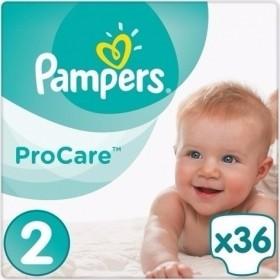 PAMPERS Procare Βρεφικές Πάνες Νο 2 (3-6kg) 36τμχ