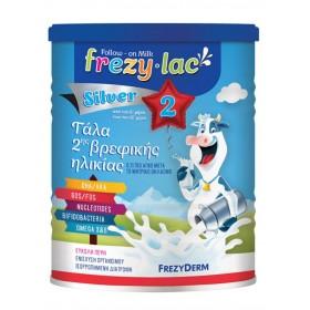 FREZYDERM Frezylac Silver 2 Αγελαδινό Γάλα σε Σκόνη από τον 6° Έως τον 12° Μήνα 400gr
