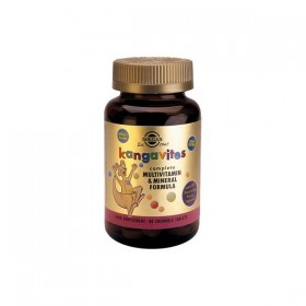 SOLGAR Kangavites Complete Multivitamin & Mineral Formula (Bouncing Berry) 60 δισκία