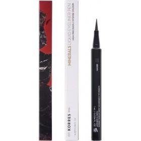 KORRES Minerals Liquid Eyeliner Pen Χρώμα 02 Καφέ 1ml