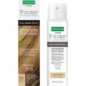 SPECCHIASOL Homocrin Spray To Go Σπρέι Βαφής Μαλλιών για Άψογη Κάλυψη στις Άσπρες Ρίζες Απόχρωση Ανοικτό Ξανθό 75ml