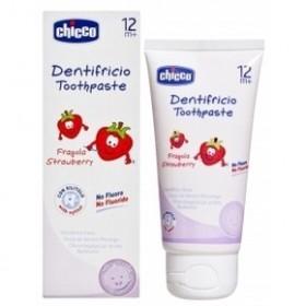 CHICCO Οδοντόπαστα Φράουλα 12m+ 50ml