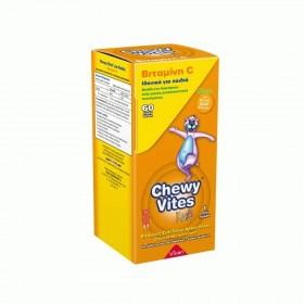 CHEWY Vites Βιταμίνη C Συμπλήρωμα Διατροφής γιια Παιδιά 60 τεμάχια