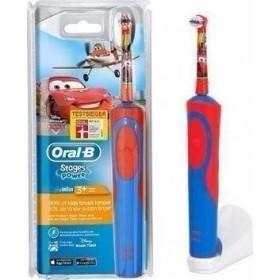 ORAL-B Stages Power Cars Παιδική Ηλεκτρική Οδοντόβουρτσα 3+