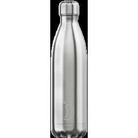 CHILLY'S Ανοξείδωτο Θερμός Χρώμα Original Silver 750ml