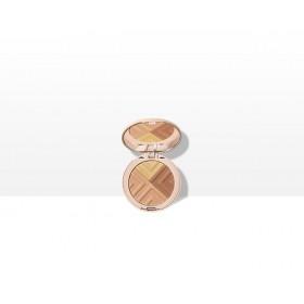 VICHY MineralBlend Healthy Glow Tri-Colour Powder Τρίχρωμη Πούδρα για Λάμψη & Ενυδατωμένη Επιδερμίδα Tan 9g