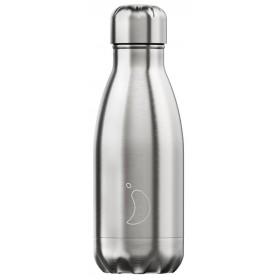 CHILLY'S Ανοξείδωτο Θερμός Χρώμα Original Silver 260ml