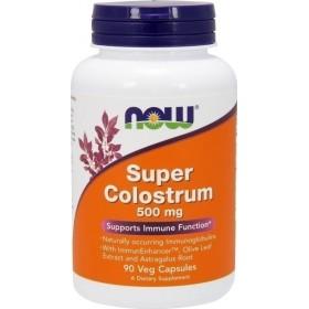 NOW FOODS Super Colostrum 500 mg 90 Caps