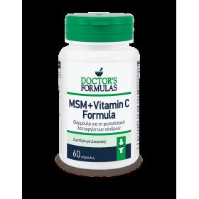 DOCTOR'S FORMULAS MSM & Vitamin C Formula 60 Κάψουλες