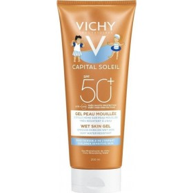 VICHY Capital Soleil Wet Skin Gel For Children Παιδικό Αντηλιακό Γαλάκτωμα SPF50+ 200ml