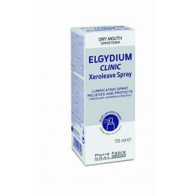 ELGYDIUM CLINIC Xeroleave Spray Υποκατάστατο Σάλιου σε Μορφή Spray για την Αντιμετώπιση της Ξηροστομίας 70ml