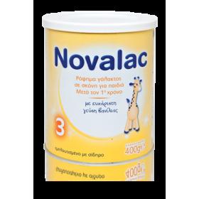NOVALAC 3 Γάλα σε Σκόνη για Παιδιά Μετά τον 1οχρόνο 400gr