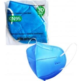 Μάσκα Υψηλής Προστασίας KN95 GB2626-2006 Γαλάζια 1τμχ
