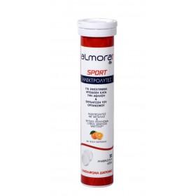 ALMORA Plus Sport Ηλεκτρολύτες για Ενισχυμένη Απόδοση Κατά την Άθληση & Ενυδάτωση του Οργανισμού με Γεύση Πορτοκάλι 20 Αναβράζοντα Δισκία