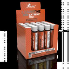 OLIMP L-Carnitine 3000 Extreme Shot με Γεύση Πορτοκάλι 20 Αμπούλες x 25ml