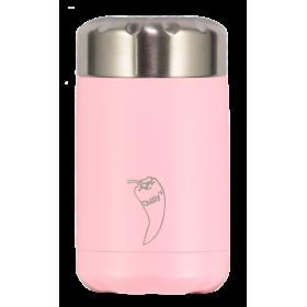 CHILLY'S Food Pot Ανοξείδωτο Θερμός Φαγητού Χρώμα Παστέλ Ρόζ 300ml