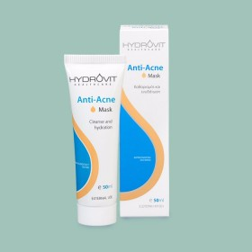 HYDROVIT Anti-Acne Mask Μάσκα Προσώπου για Καθαρισμό & Ενυδάτωση 50ml
