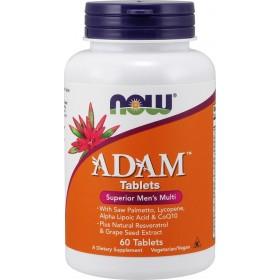 NOW FOODS Adam Ανδρική Πολυβιταμίνη 60tabs
