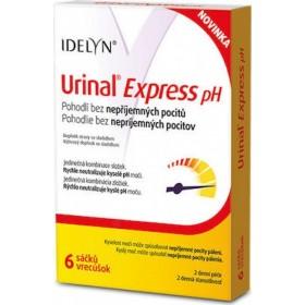 URINAL Express pH Συμπλήρωμα Διατροφής Ιδανικό για Επώδυνες Ουρολοιμώξεις 6 Φακελίσκοι