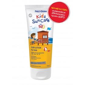 FREZYDERM Kids SunCare Πρόσωπο και Σώμα SPF50+ 175ml
