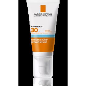 LA ROCHE POSAY Anthelios Hydrating High Protection & Ultra Resistant Cream Αντηλιακή Κρέμα Προσώπου Ενάντια στο Τσούξιμο των Ματιών με Άρωμα SPF30 50ml