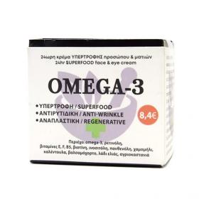 FITO+ 24ωρη Κρέμα Υπερτροφής Προσώπου & Ματιών Οmega-3 50ml