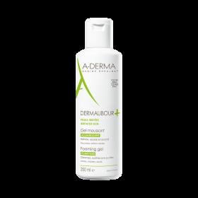 A-DERMA Dermalibour+ Purifying Foaming Gel Καταπραυντικό Ζέλ Καθαρισμού Μαλλιών , Προσώπου & Σώματος 250ml