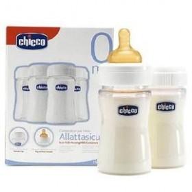 CHICCO Μπουκάλια διατήρησης μητρικού γάλατος 4 τεμάχια 0m+