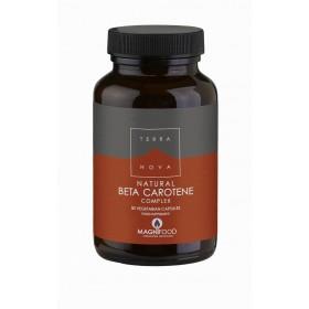 TERRANOVA Natural Beta Carotene Complex 50 veg caps