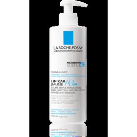 LA ROCHE POSAY Lipikar Baume AP+M Μαλακτικό Βάλσαμο Αναπλήρωσης Λιπιδίων με Τριπλή Δράση Κατά των Ερεθισμών & του Κνησμού για το Ξηρό & Ατοπικό Δέρμα 400ml