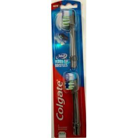 COLGATE 360 Floss-Tip Bristles 5x Ανταλλακτικά Βουρτσάκια 2τμχ