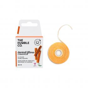 THE HUMBLE CO. Dental Floss Cinnamon Οδοντικό Νήμα Καθαρισμού με Γεύση Κανέλα 50m