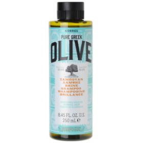 KORRES Olive Σαμπουάν Λάμψης για Κανονικά Μαλλιά 250ml