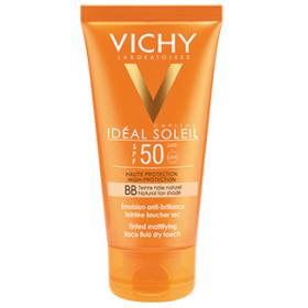 VICHY Ideal Soleil Κρέμα με Λεπτόρρευστη Υφή για Μάτ Αποτέλεσμα με Χρώμα SPF50 50ml