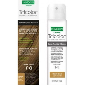 SPECCHIASOL Homocrin Spray To Go Σπρέι Βαφής Μαλλιών για Άψογη Κάλυψη στις Άσπρες Ρίζες Απόχρωση Σκούρο Ξανθό 75ml